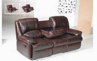 Leather sofa furniture h869
