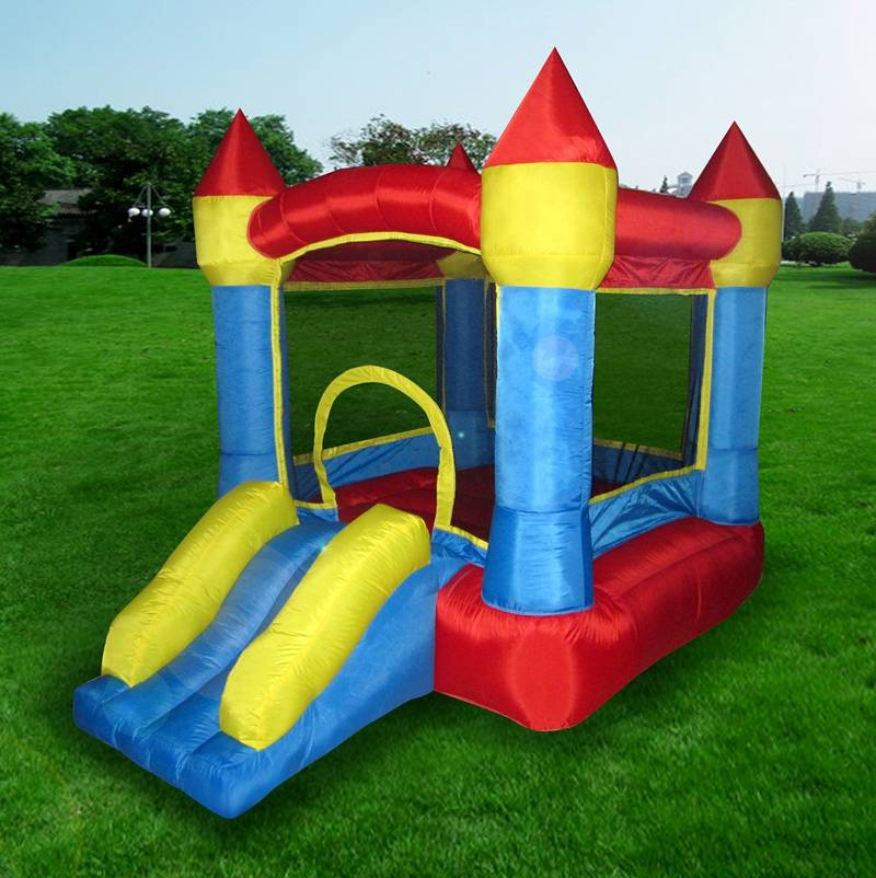 Lanqu inflatable castle bouncer