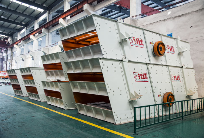 YA Circular Vibrating Screen (1-shaft)