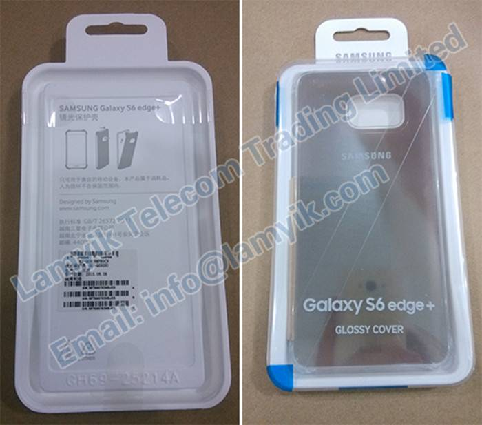 EF-ZG928CFEG Samsung Galaxy S6 EDGE+ Clear View Cover Gold