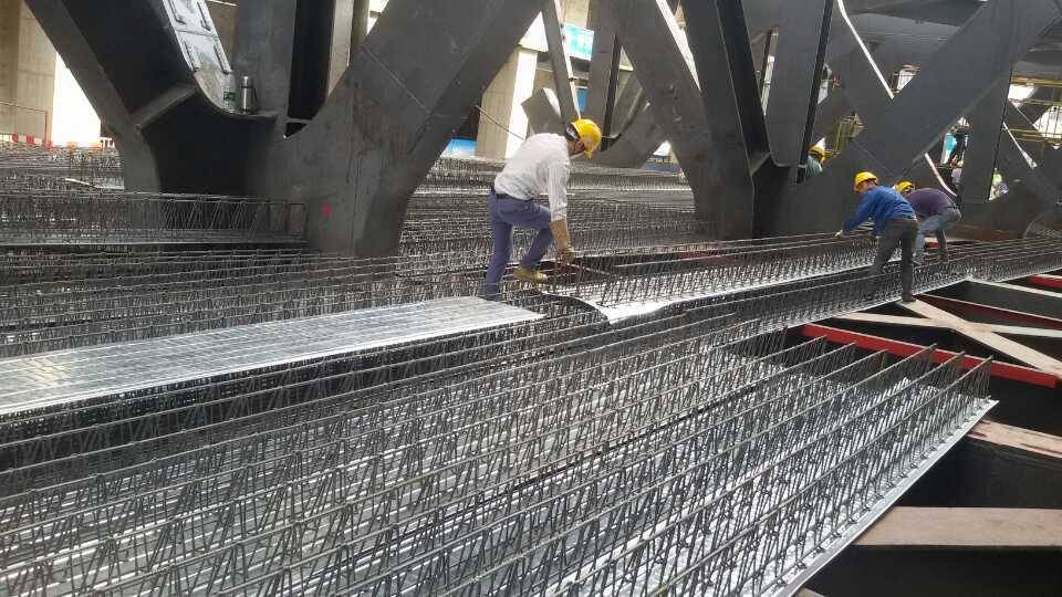 2016 cold rolled 550 iron rebar floor truss sheet