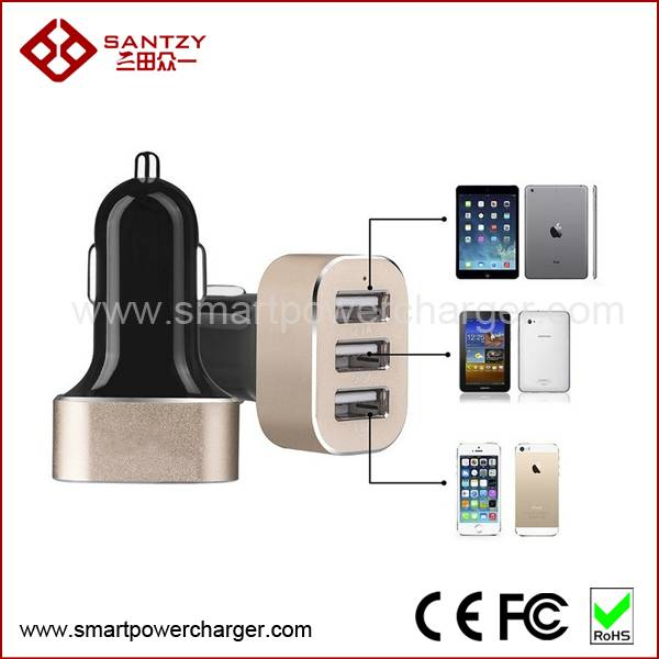 100% High quality input DC 12V - 24V usb charger car