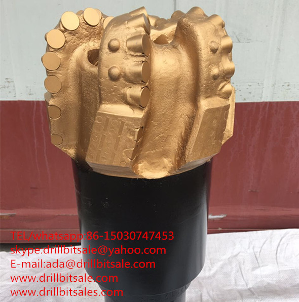 6 blade single row tooth matrix body PDC bit