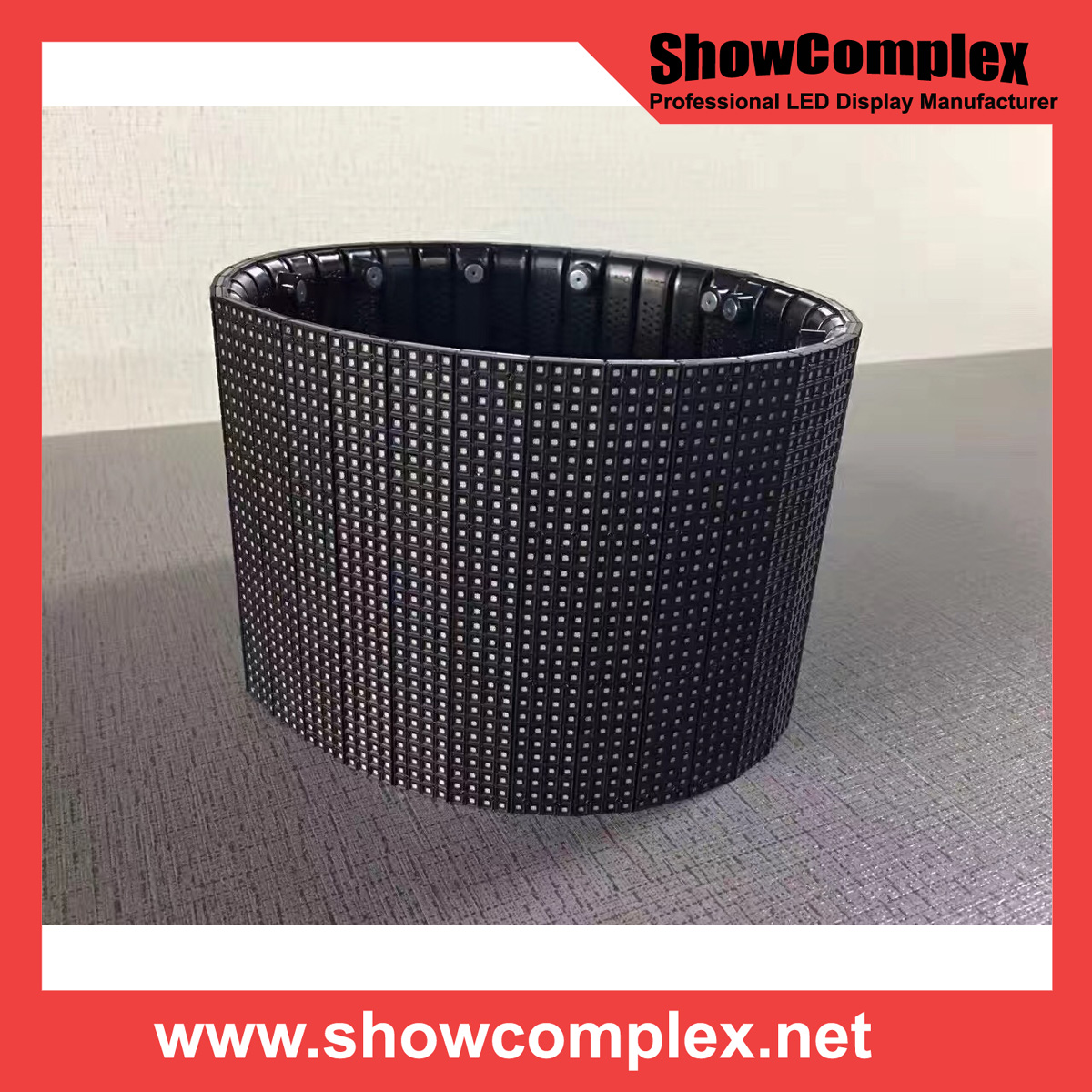 Showcomplex Flexible LED Display P6 LED Module
