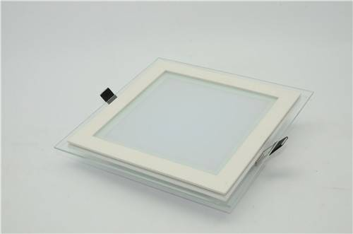 Square LED Down Light with glass