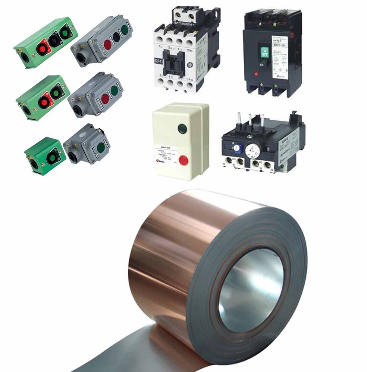 Copper Clad Steel Strip Material for Contactor