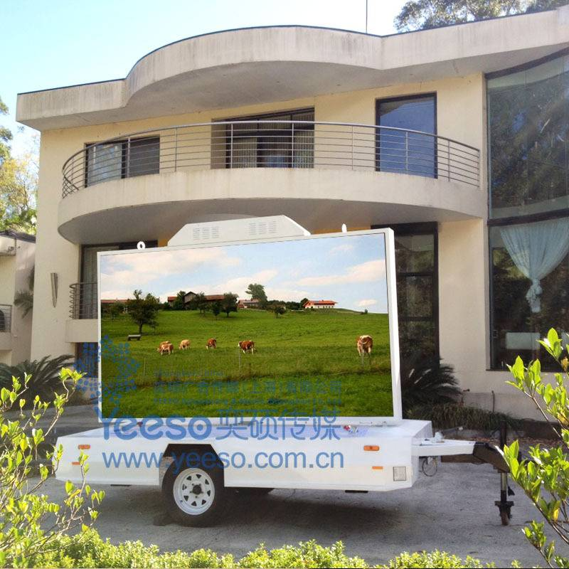 2014 Outdoor LED Advertising Trailer Mini Version YES-T5