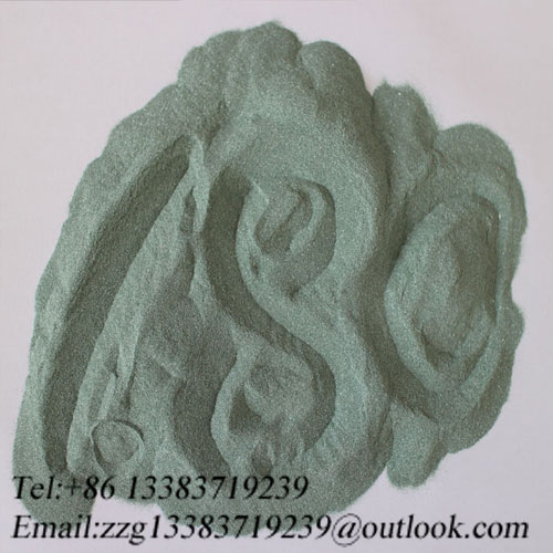 F80 Silicon Carbide Green Used in Grinding and Polishing
