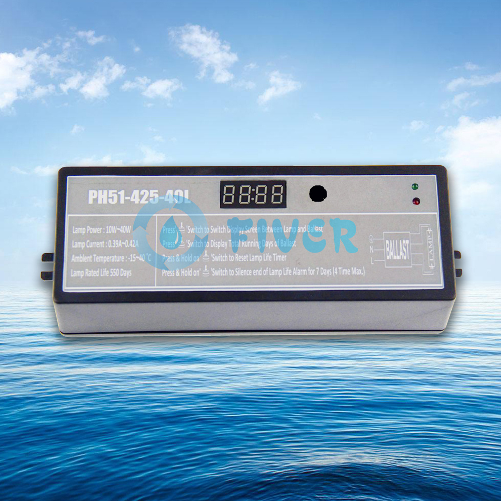 10-40W UV Lamp Ballast with Timer