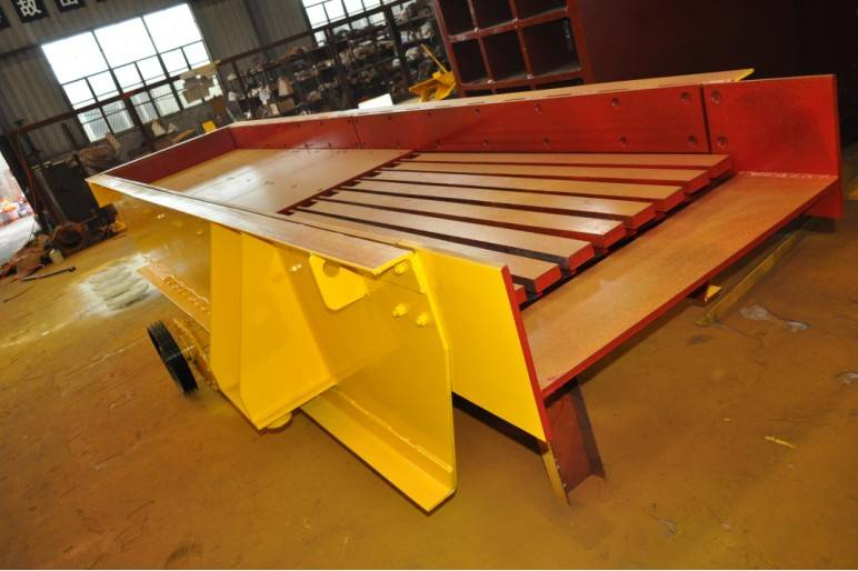 grizzly vibrating feeder ZSW-490x110