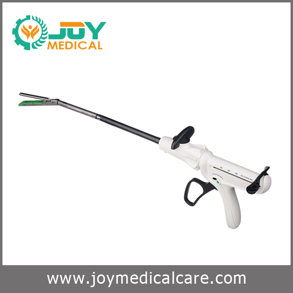 Disposable endoscopic linear cutter stapler & reloads