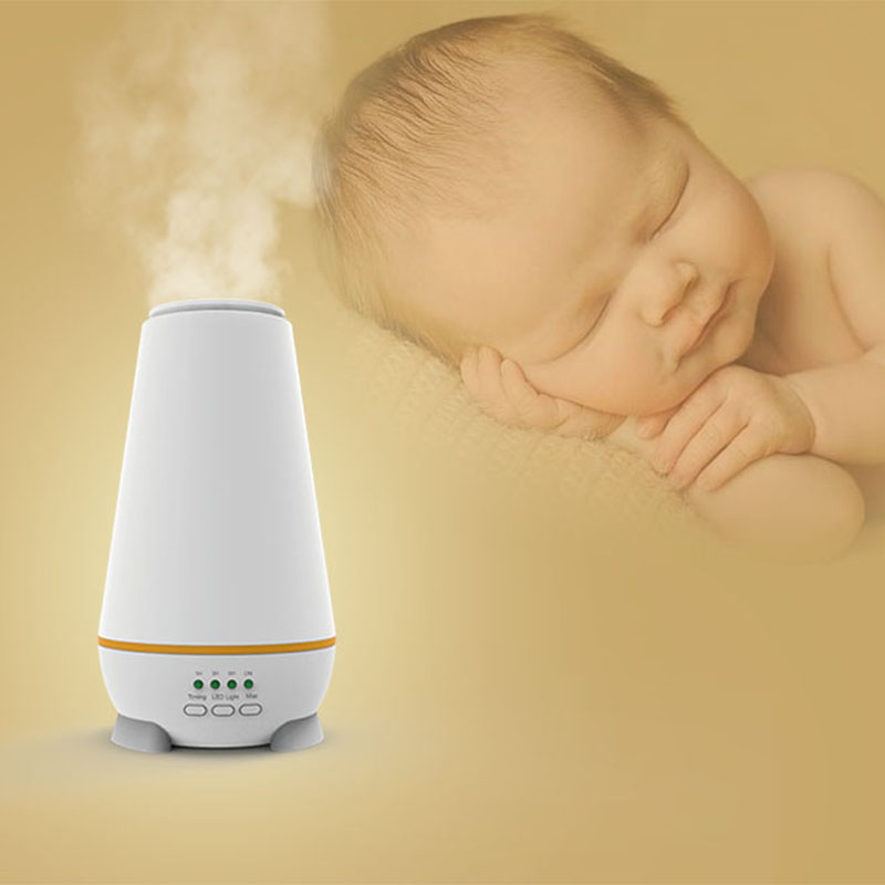 150ml Scent Ultrasonic Aroma Essential Oil Diffuser for Yoga Office Babyroom