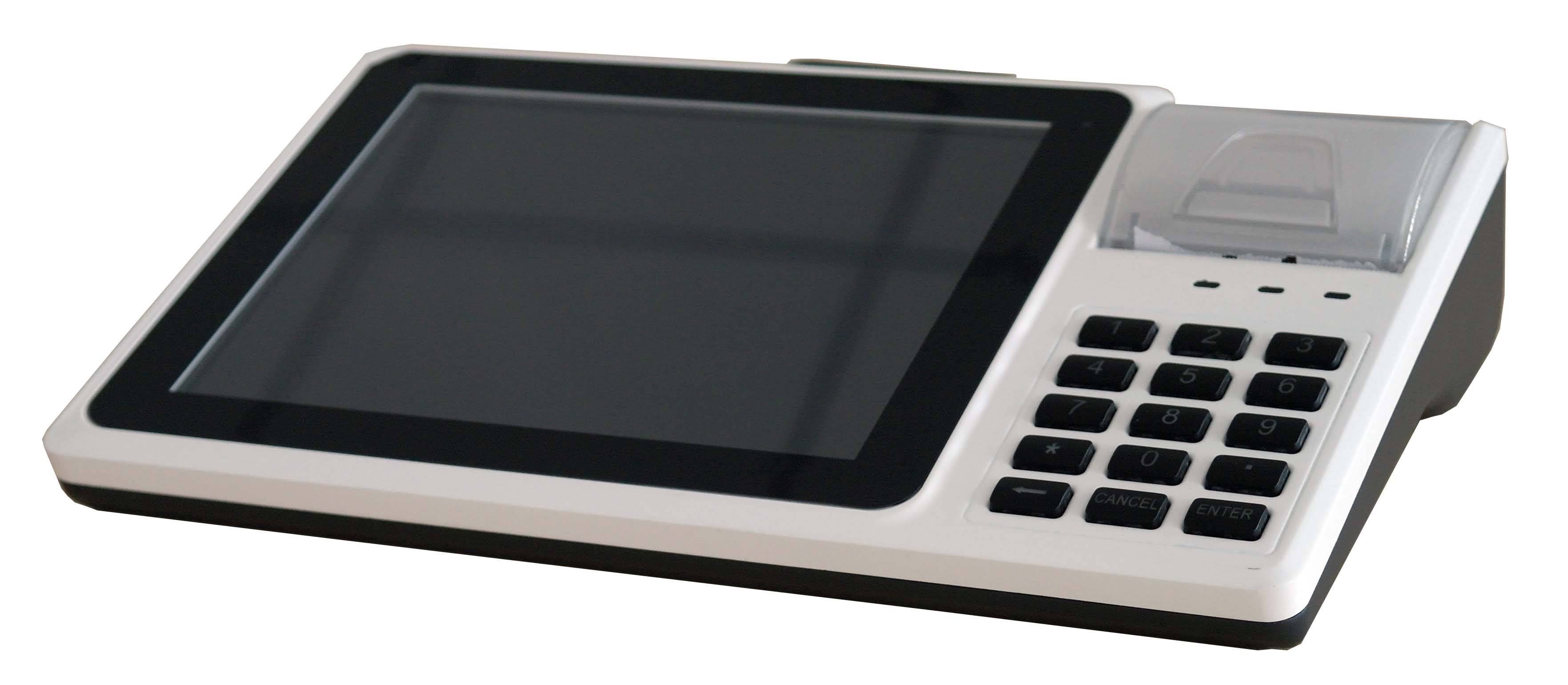 """IDT800 8"""" Capacitive Touch Screen Android 4.2 POS"""