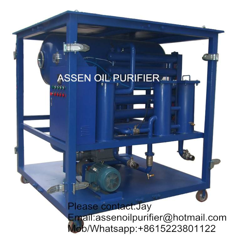 ZYD type Transformer Oil Purifier machine