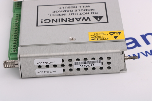 3500/65 Bently Nevada16 channel temperature module
