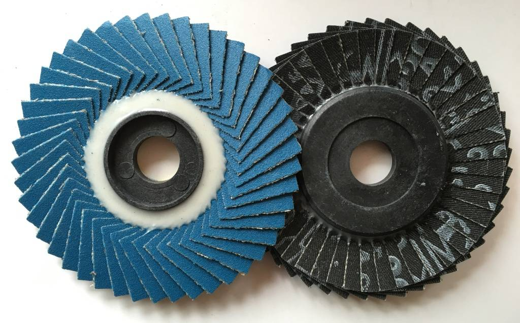 "4"" 100x16mm Zirconium Abrasive Flap Disc"