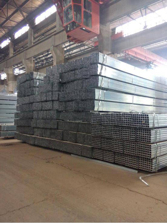 ss400 various hot dip galvanized square steel pipe