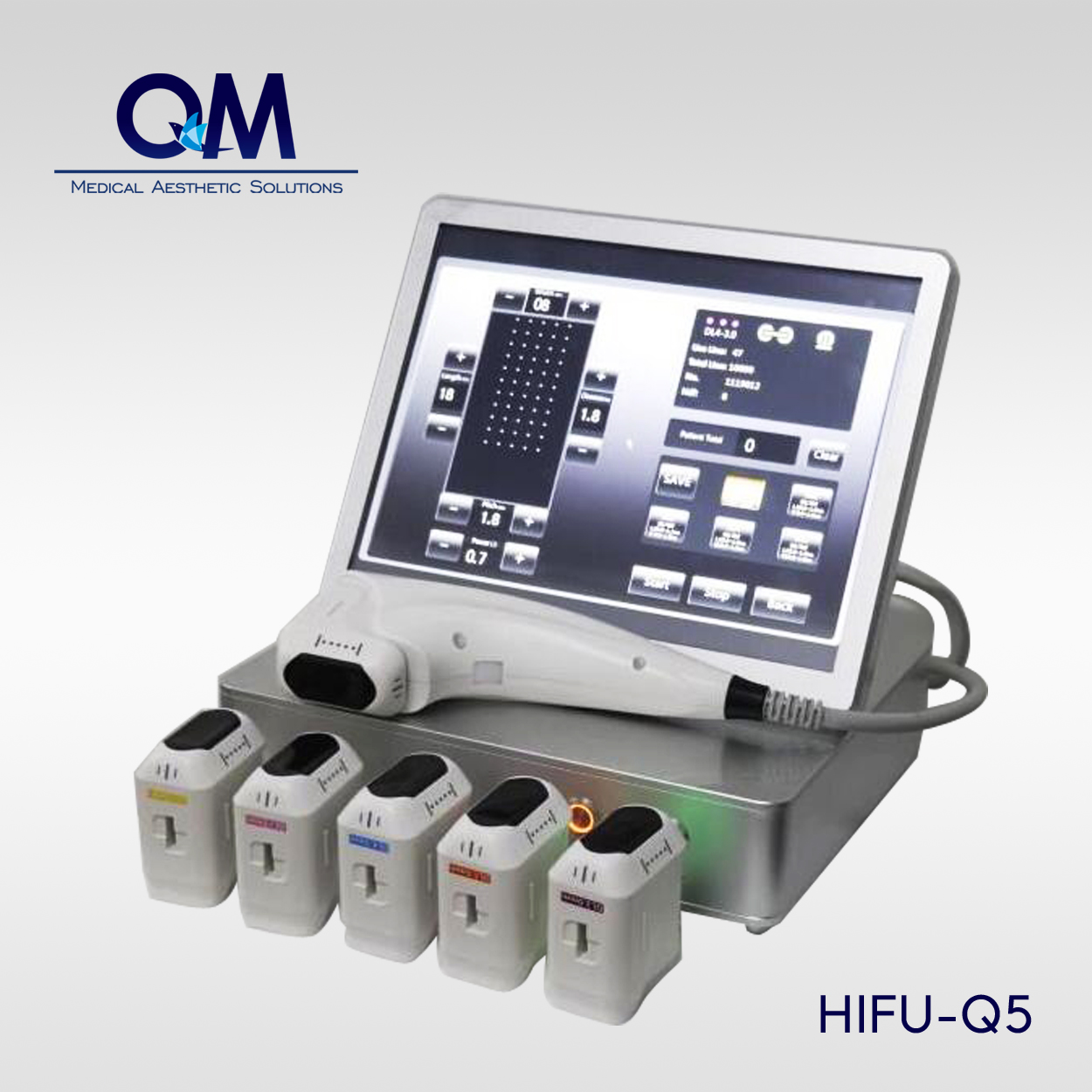 Portable 3D HIFU Skin Anti-aging System HIFU-Q5