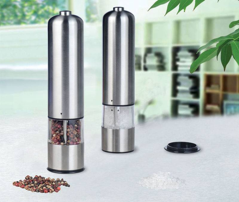 Electric spice mill