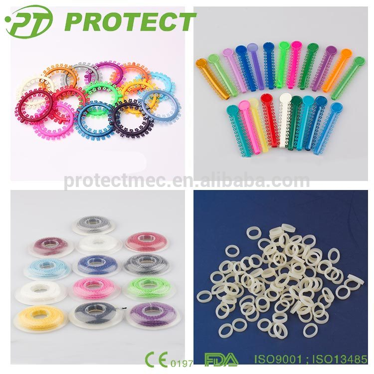 High Quality Dental Orthodontic Rubbers With CE