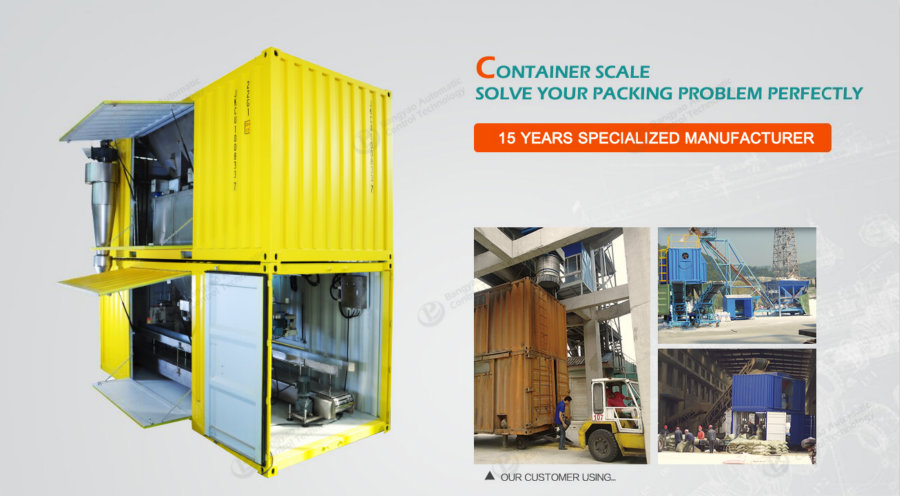 mobile container quantitative packing machine,mobile container packing machine,container scale