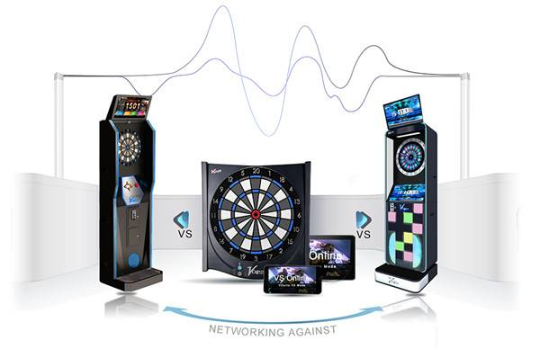 Best soft tip dart board can be connected to phone or tablet via bluetooth connection