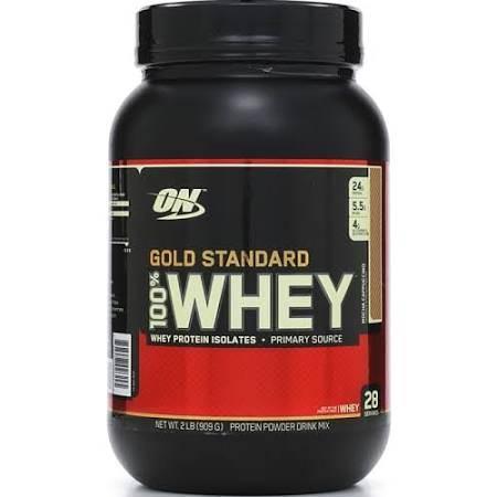 Optimum Nutrition Gold Standard Whey, Mocha Cappuccino - 2 lb jar