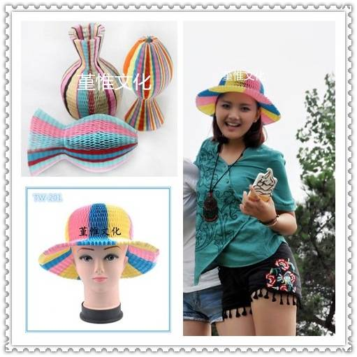 Party Supply, Fun, Magic Candy Color Series Paper Hat for children and women