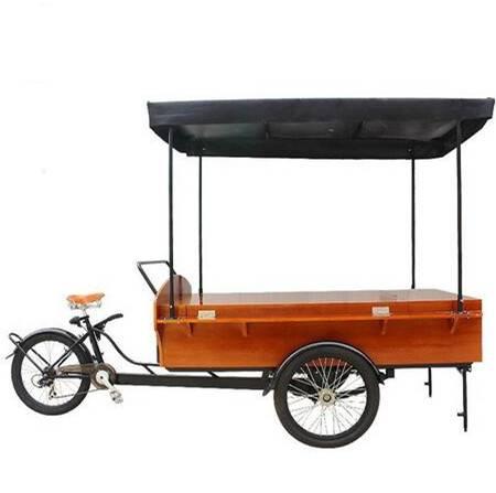 moving selling cart/coffee cart/ mobile coffee bike/coffee trike