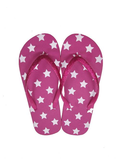 the star lady flip flop