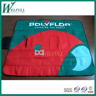 Custom design China wholesale print picnic blanket for camping/Eco-friendly waterproof colorful port