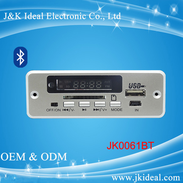 bluetooth usb sd card fm tuner mp3 player circuit board for audio