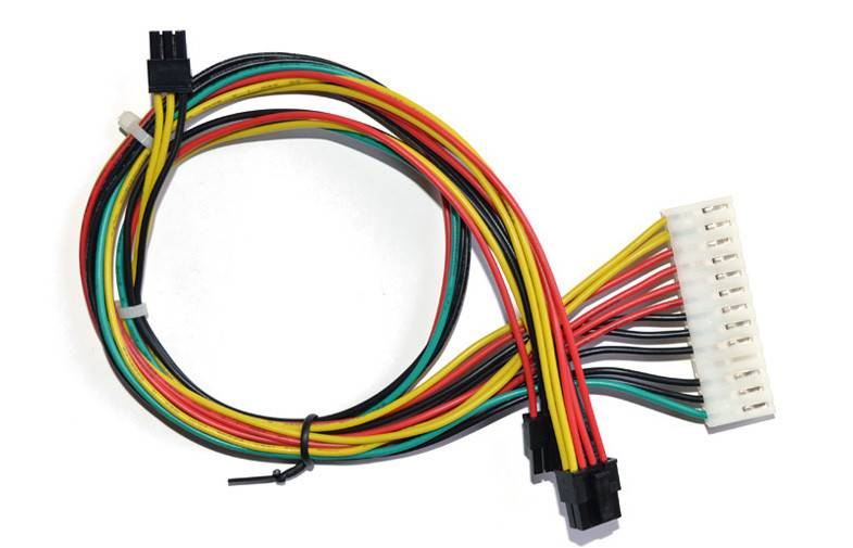 ODM OEM RoHS compliant automotive 6pin connector wire harness