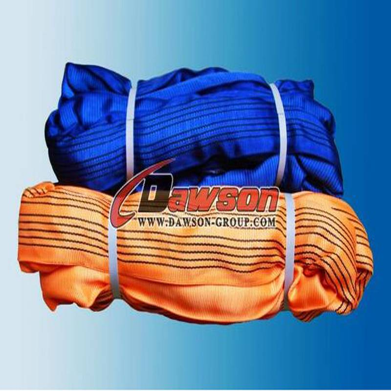 EN1492-2 polyester round sling of 8t / 10t