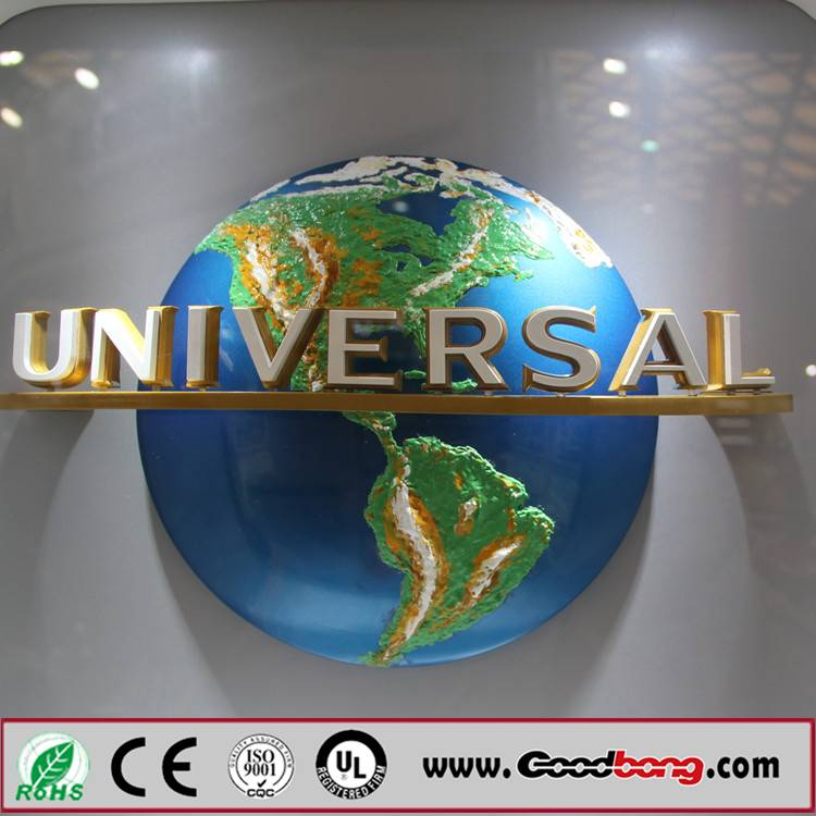 Outdoor Strong Huge Size Advertising Hot Sale Exterior LED Lighting Logo with Names