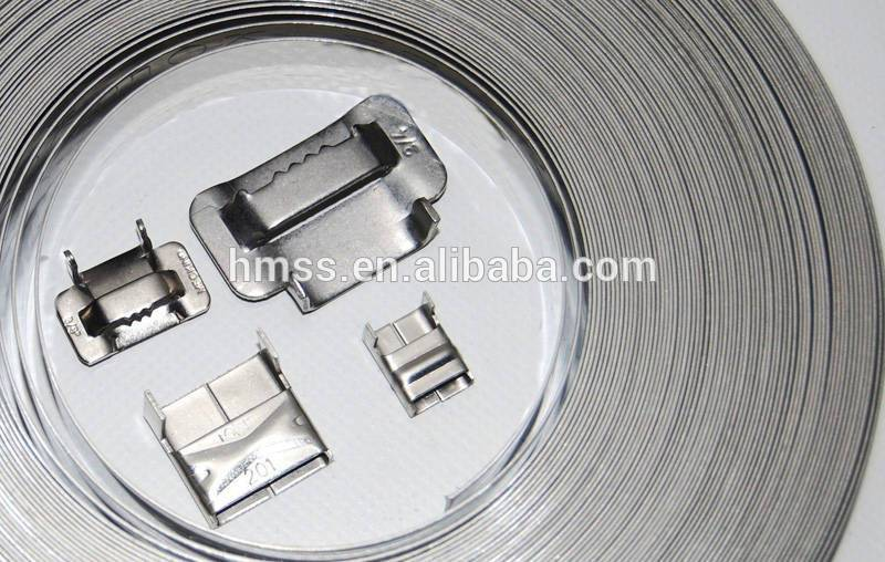 stainless steel band with buckle