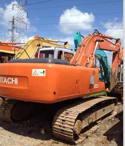Used Hitachi ZAX200 Excavator
