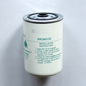 Sinotruk Howo truck parts VG1540080310 fuel filter