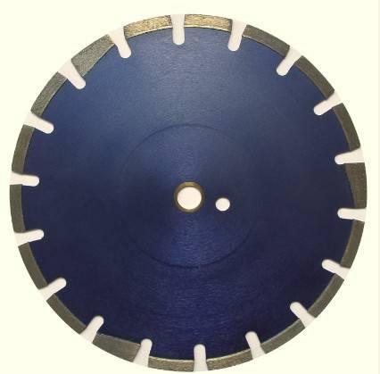 Laser welded diamond blade for Asphalt