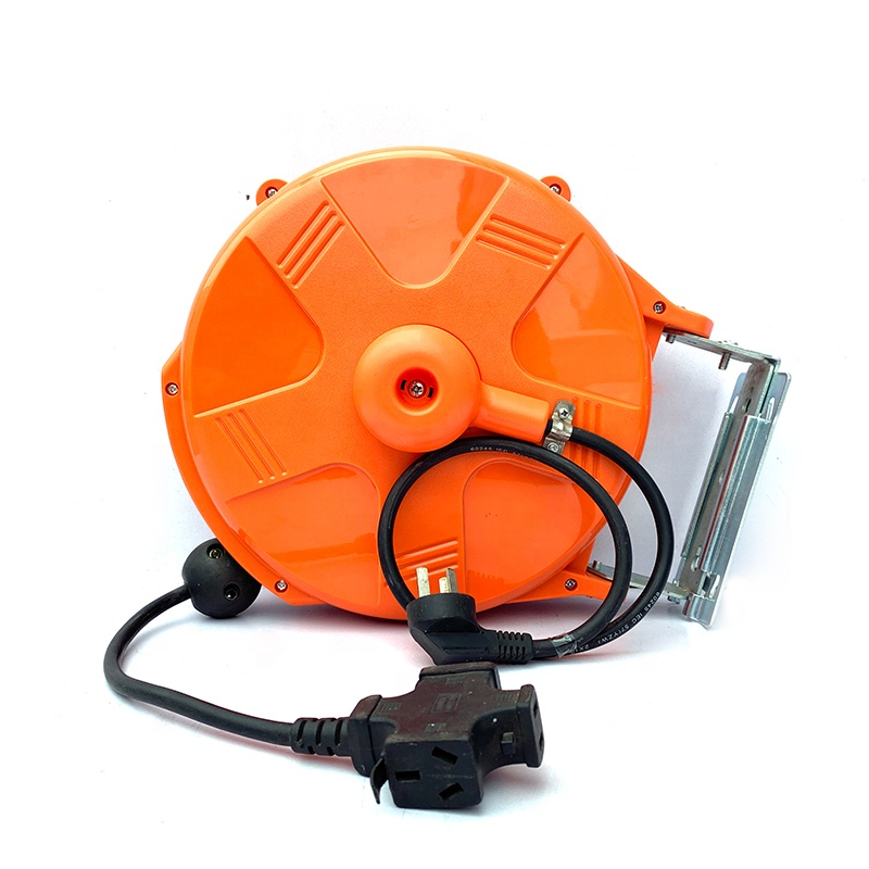 High quality socket cable reel 10 M power cable reel with socket