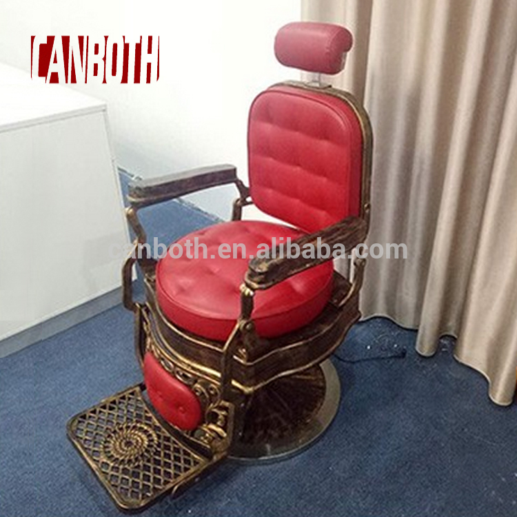 canboth Antique vintage salon barber chairs supplier in foshan CB-BC002