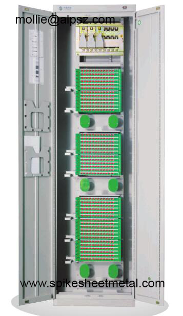 YBa optical fiber distribution frames