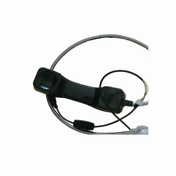 High quality approved customized telephone handset optional connecter telephone handset