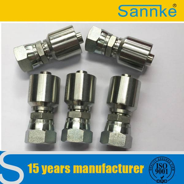 Forged Technics and Coupling Type Hydraulic Steel Pipe Fittings