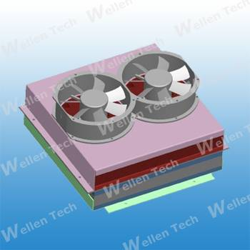 Thermoelectric cooling assemblies