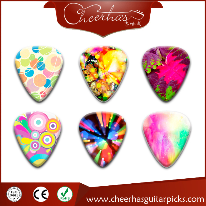 Custom Colorful Guitar Picks