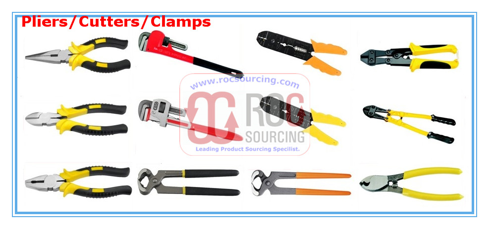 Pliers Cutters Clamps Pointed Plier Long Nose Plier Combination Plier Diagonal Plier End Cutting Pli