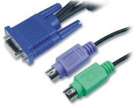 3-in-1 KVM cable