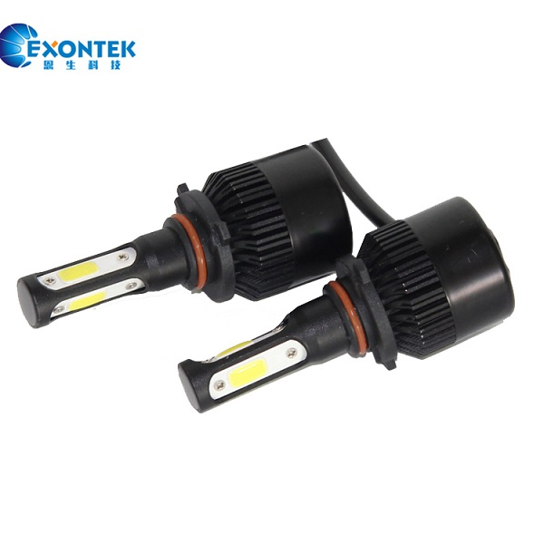 C6 S3 COB 30W with 3 Sides Auto and motor LED Lamp H7 H8 H11 9005 9006 COB All-in-One LED Headlight