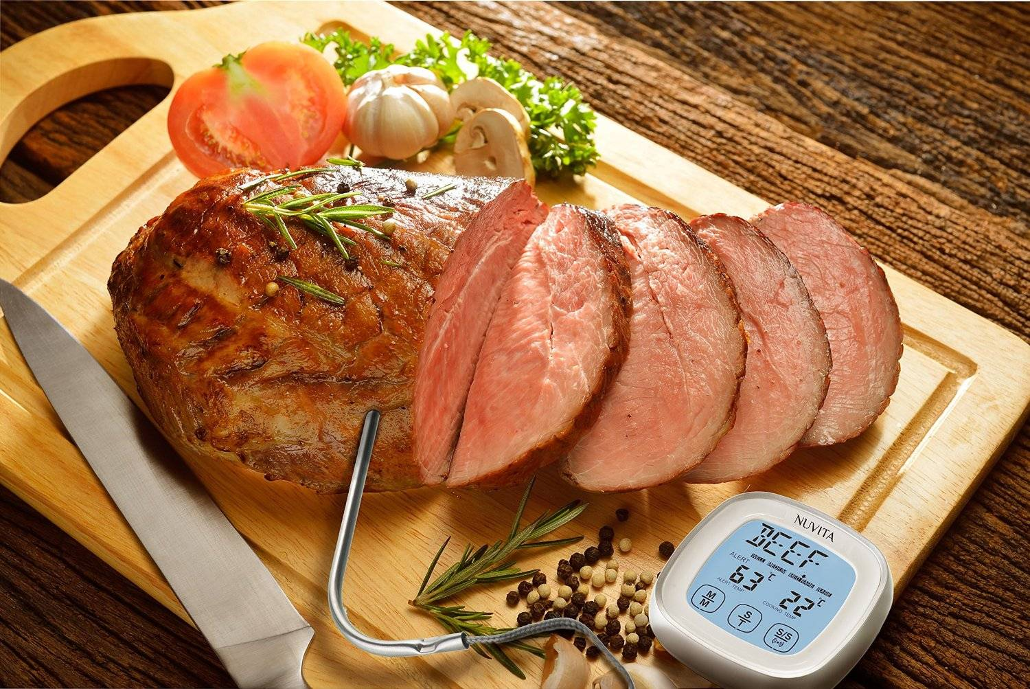 Touchscreen Digital Cooking thermometer Food Probe Thermometer for Kitchen meat BBQ thermometer